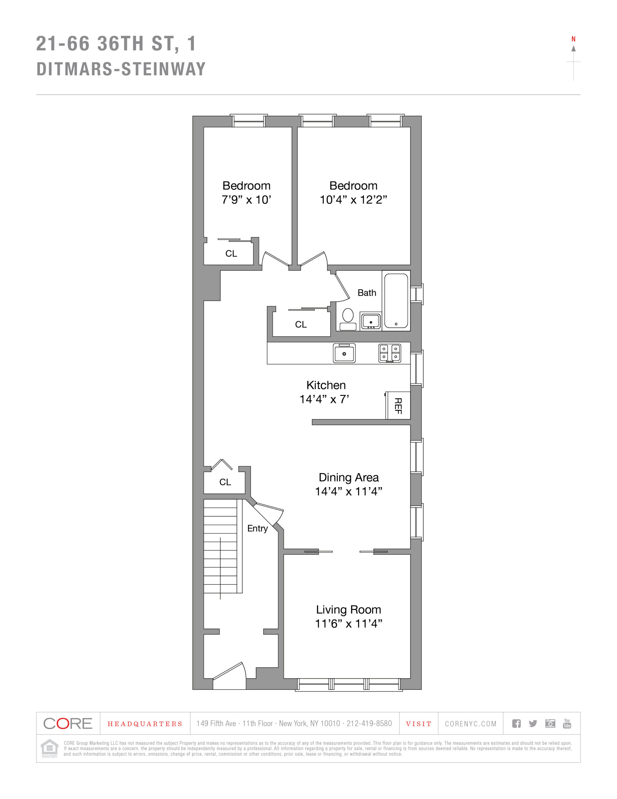 21-66 36 St. 1, Queens, NY 11105
