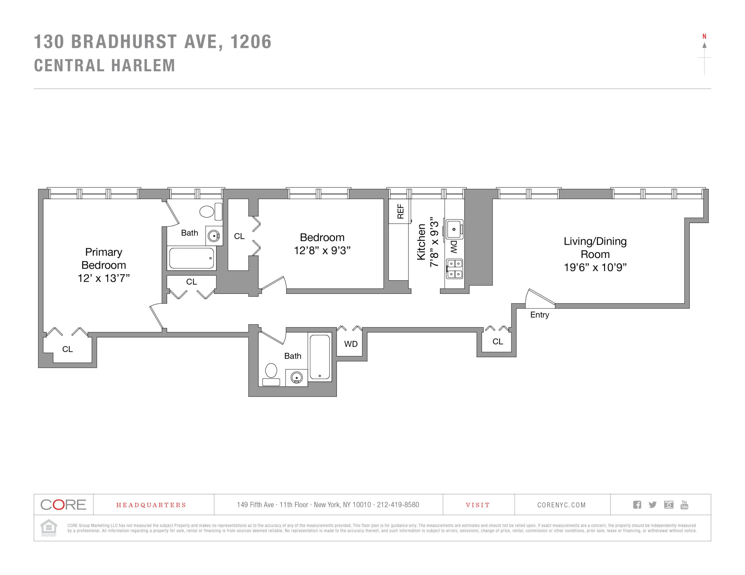 130 Bradhurst Ave. 1206, New York, NY 10039