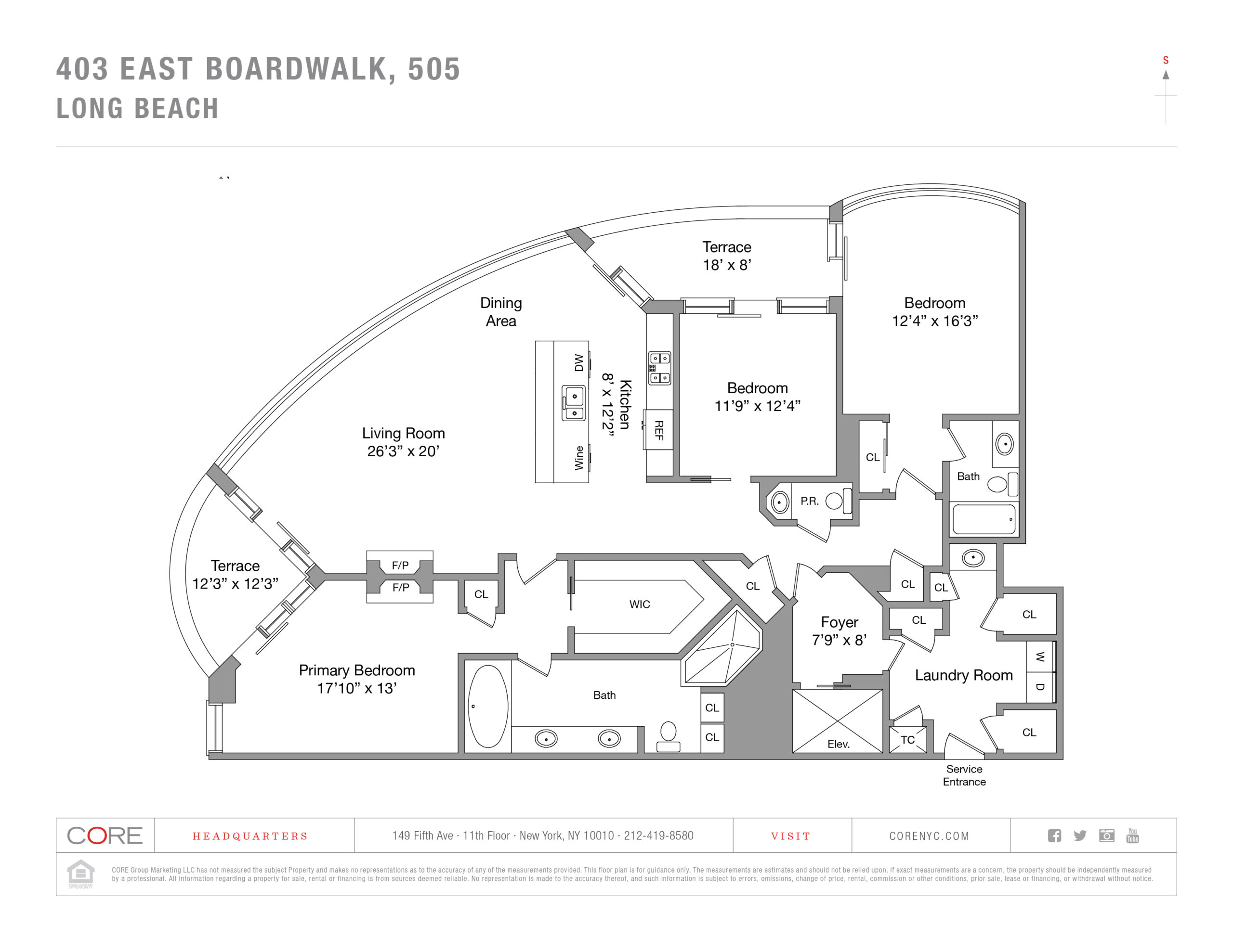403 E Boardwalk, 505 Long Beach, NY